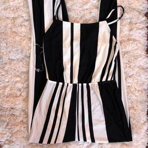 Forever 21 Black/White Jumpsuit